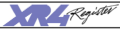 XR4 Register logo